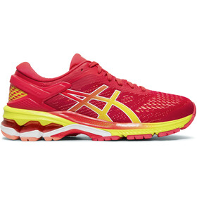 asics Gel-Kayano 26 Shoes Women laser pink/sour yuzu